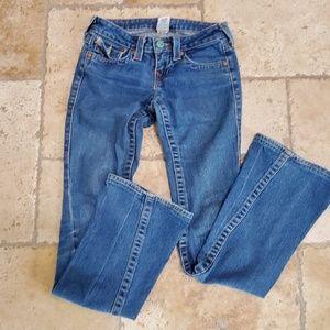 True Religion boot leg jeans